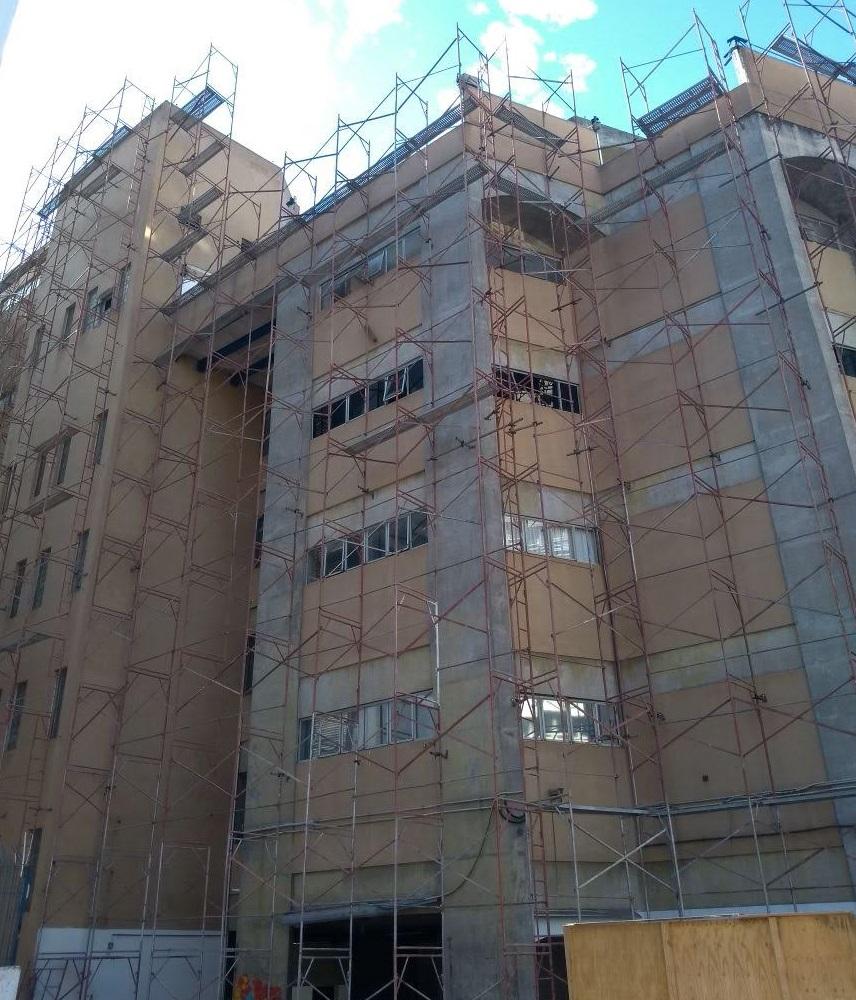 DEMOLIDORA DIEZ – Higienópolis, São Paulo - Andaime Fachadeiro p/ Demolição