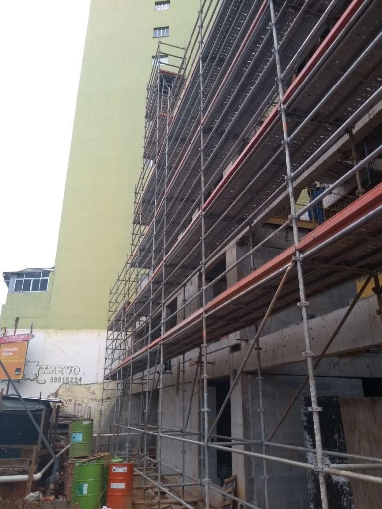 PASSARELLI – Pirituba, São Paulo - Andaime Multidirecional p/ Fachada