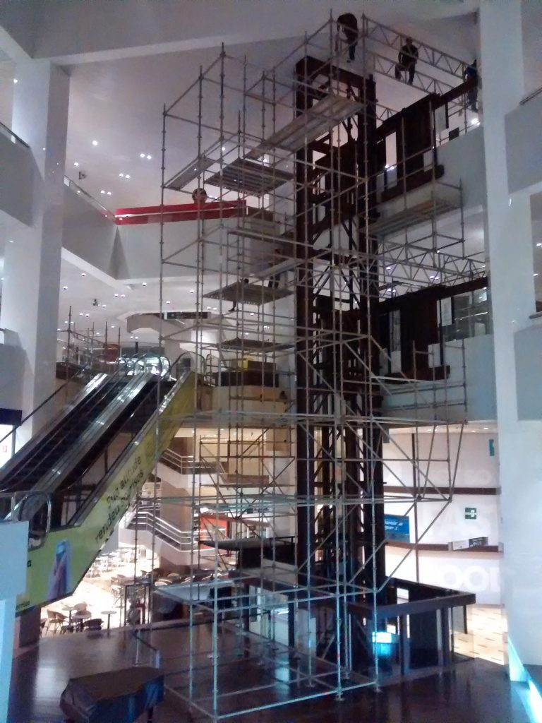 WTC SHOOPING D&D – Brooklin, São Paulo - Andaime Multidirecional p/ Revestimento