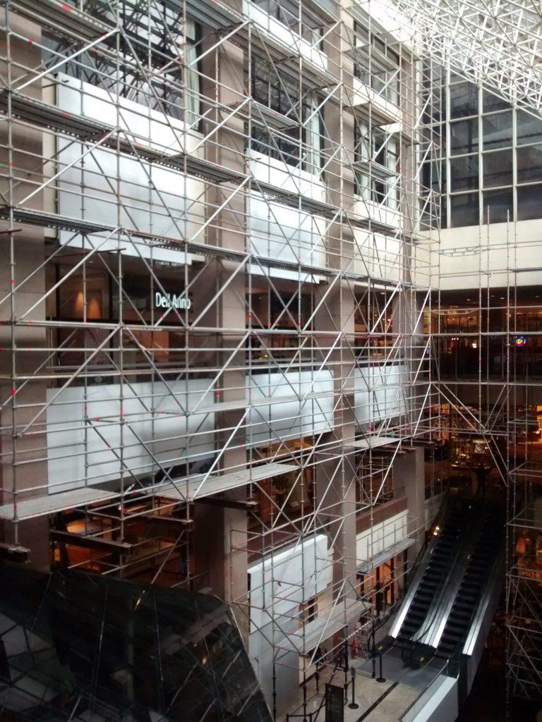 WTC HOTEL SHERATON – Brooklin, São Paulo - Andaime Multidirecional p/ Revestimento