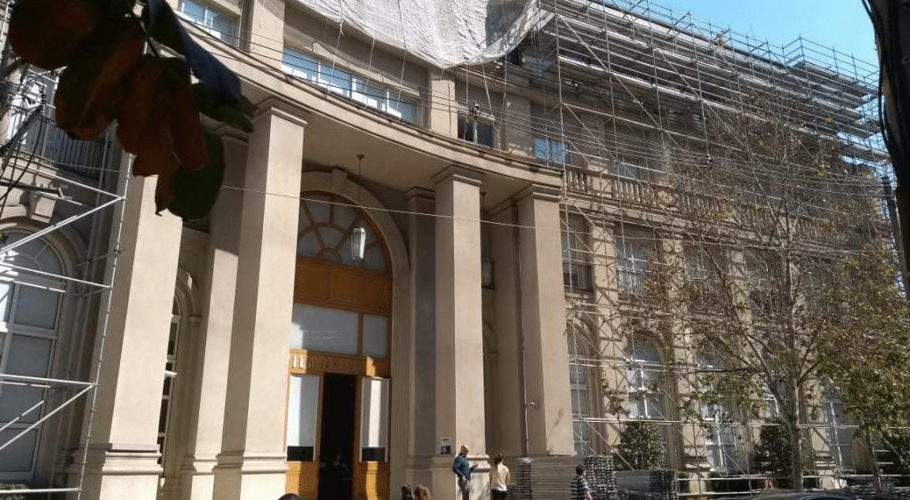 VILA OMINT – Cidade Jardim, São Paulo - Andaime Multidirecional p/ Manutenção
