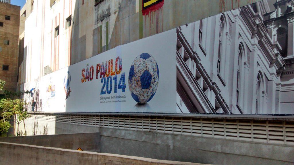 PRAÇA DAS ARTES – Centro Histórico, São Paulo - Estrutura Metálica p/ Placa Publicitaria