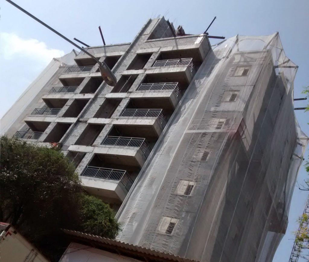 CHACARÁ DO JOCKEY – Vila Sonia, São Paulo - Andaimes Suspensos Manuais (Balancins) p/ Fachada e Estruturas Metálicas p/ Tela de Proteção e Tela de Proteção
