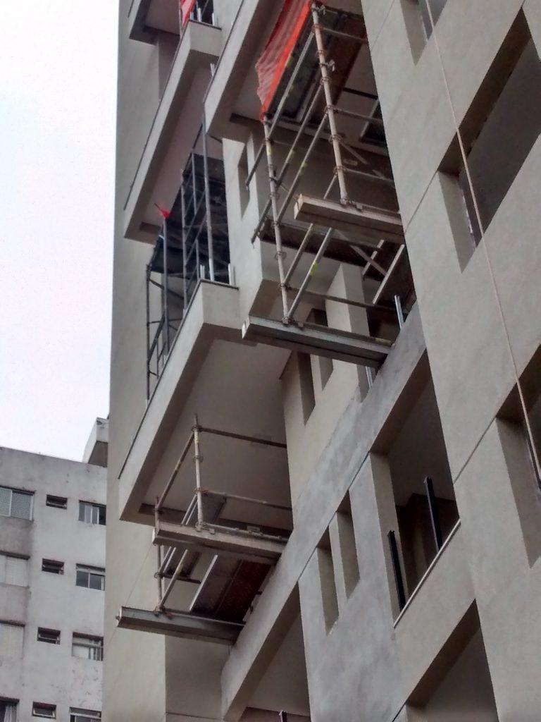 ORGUEL - Moema, São Paulo - Andaimes Multidirecionais p/ Revestimento