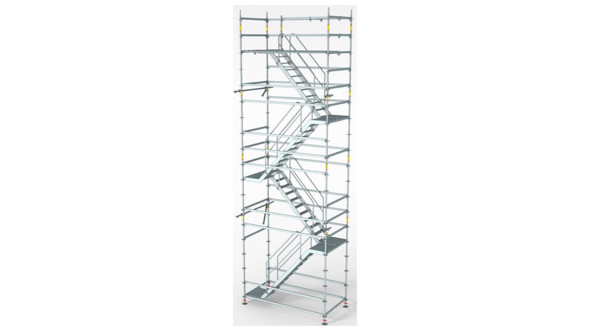 escada de acesso 01